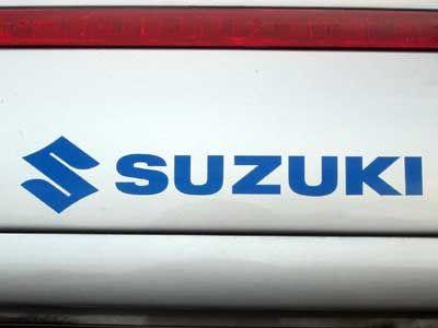 Suzuki Schriftzug Logo